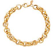 EternaGold 7 Rolo Link Chain Bracelet, 14K Gold - J345523