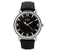 Peugeot Mens Stainless Steel Domed Vintage Watch - J383923