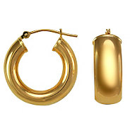 EternaGold Bold Huggie Hoop Earrings, 14K GoldTube - J110424