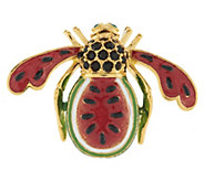 Joan Rivers Watermelon Bee Pin - J292024