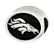 Sterling Denver Broncos NFL Bead - J315124