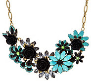Joan Rivers Jeweled Garden 18 Statement Necklace w/ 3 Extender - J331624