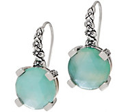 Stephen Dweck Sterling Silver and Gemstone Drop Earrings - J355024