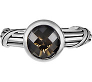Peter Thomas Roth Sterling Fantasies Smoky Quartz Bezel Ring - J379624