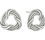 Peter Thomas Roth Sterling Signature Classic Stud Earrings - J380424