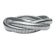 Stainless Steel Interlocking Tubagos Bracelet - J274225