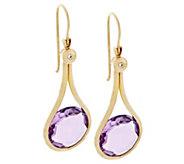 Adi Paz 7.00 ct tw Gemstone Dangle Earrings 14K Gold - J290325