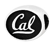 Sterling Silver University of California, Berkley Bead - J300825