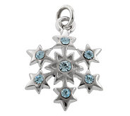 Mixers Sterling Crystal Snowflake Pendant - J304725