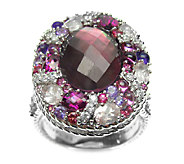 Judith Ripka Sterling Pink Multi-Gemstone Ring - J336525