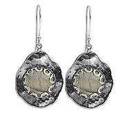 Or Paz Sterling Gemstone Tear Drop Earrings - J337625