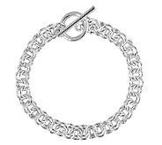 Sterling 7-1/4 Double Rolo Link Bracelet - J338825