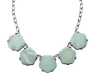Capwell Pentagonal Amazonite Drift Necklace - J340125