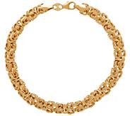 EternaGold 7 Byzantine Bracelet, 14K Gold, 3.7g - J345525