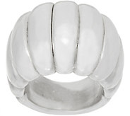 Simon Sebbag Sterling Silver Electroform Ribbed Ring - J351025