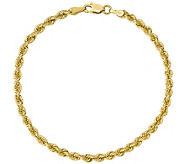 14K Gold 7 Rope Bracelet, 5.5g - J374825
