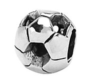 Prerogatives Sterling Soccer Ball Bead - J108926