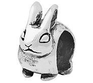 Prerogatives Sterling Bunny Bead - J110026