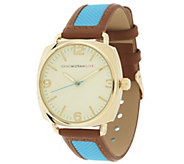 Isaac Mizrahi Live! Strap Watch with Trim Trim - J289126