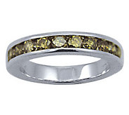 Diamond Band Champagne Ring, 14K Gold, 1 cttw,by Affinity - J307726