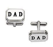 Forza Mens Stainless Steel DAD Cuff Links - J313826