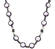 Michael Dawkins Sterling 65.00 ct Amethyst Necklace - J319826
