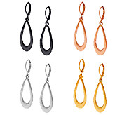 As Is Joan Rivers Set of 4 Classic Teardrop Earrings - J327826