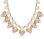 As Is Joan Rivers Crystal Geometry 18 Statement Necklace - J329826