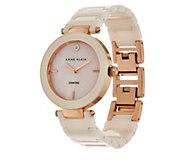 Anne Klein Diamond Accent Dial Ceramic Watch - J333726