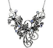 Or Paz Sterling Tanzanite & Swirls Necklace - J379326