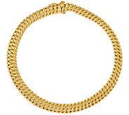 Italian Gold 7-1/2 Curb-Link Bracelet 14K, 8.2 - J381626