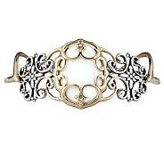 Carolyn Pollack Sterling Twilight White Agate Bracelet - J303927
