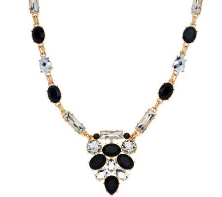 susan graver statement necklace qvc