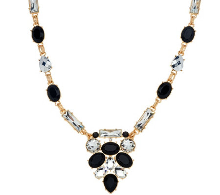 susan graver long statement necklace