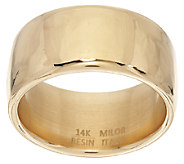 Oro Nuovo Polished Band Ring 14K - J324627