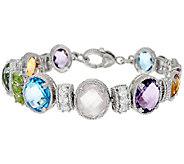 Judith Ripka Sterling Multi-Gemstone Bracelet - J324927