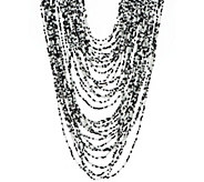 As Is Joan Rivers Layered Seed Bead 28 Necklace - J327827