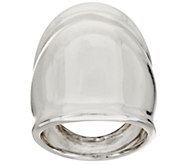 As Is RLM Bronze Elongated Domed Alpha Ring - J333127