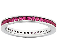 Simply Stacks Sterling Created Ruby Eternity Ring - J337527