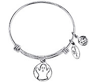 Extraordinary Life Sterling Ghost AdjustableBangle - J341227