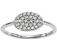 Dainty Designs 14K 1/5 cttw Diamond Oval Ring - J345327
