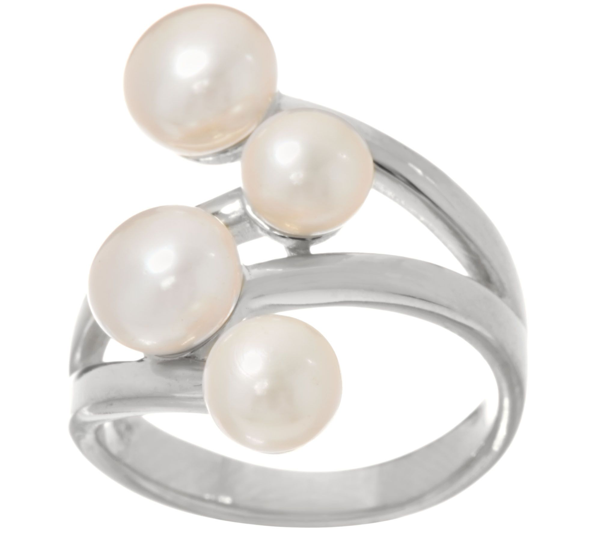 products nelly baguette classic ring cocktail pearl lg freshwater cubic zirconia carat cultured rings engagement