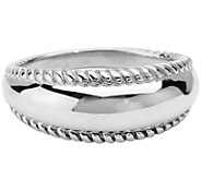 Carolyn Pollack Possibilities Sterling Silver Band Ring - J374927
