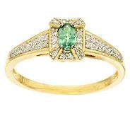 0.20 ct Alexandrite & 1/10 ct tw Diamond Ring 14K Gold - J281728