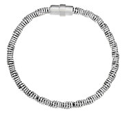 UltraFine Silver Twisted Snake Chain Bracelet - J290128