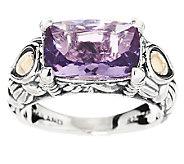 JAI Sterling & 14K Sukhothai 2.60 ct Amethyst Ring - J291728