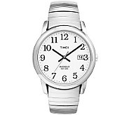 Timex Mens Silvertone Easy Reader Watch - J308828