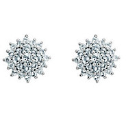 Sterling Choice of Gemstone Post Earrings - J311928