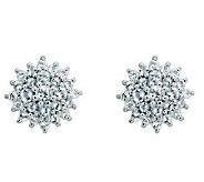 Sterling Choice of Gemstone Post Earrings - J311928