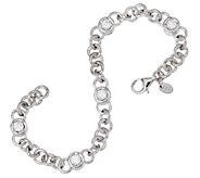 Diamonique 2.50 cttw 6-3/4 Line Bracelet, Sterling - J321128